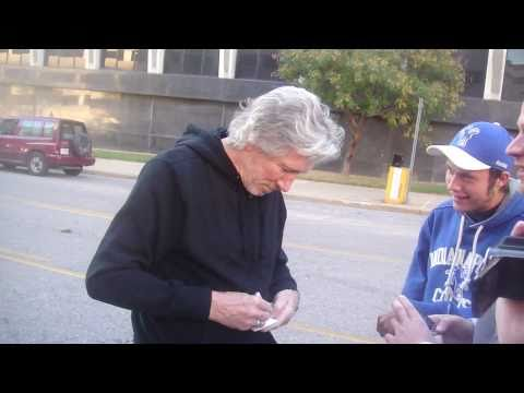 Meeting Roger Waters! - (10/29/10 - St.Louis, MO)
