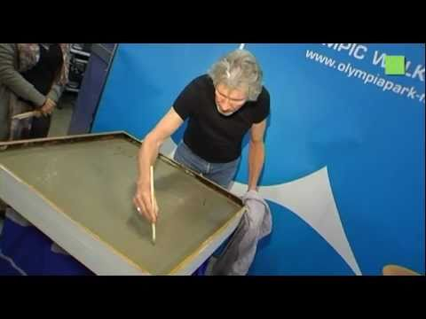 Roger Waters - Munich Olympic Walk of Stars 20. Juni 2011