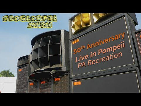 Live in Pompeii 50th Anniversary Pink Floyd PA Recreation