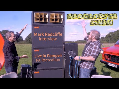 Mark Radcliffe talks about the Pink Floyd Live in Pompeii PA recreation