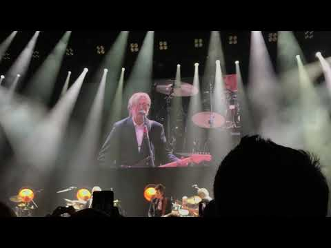 Eric Clapton, Roger Waters and Ronnie Wood - White Room - Eventim Apollo - London 17 February 2020