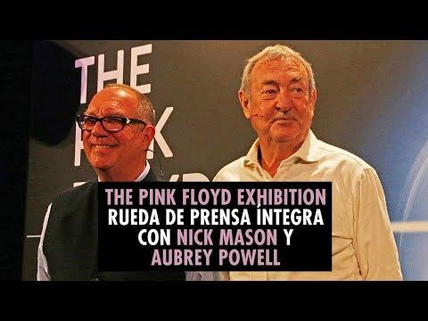 The Pink Floyd Exhibition - Rueda de prensa íntegra con Nick Mason y Aubrey Powell