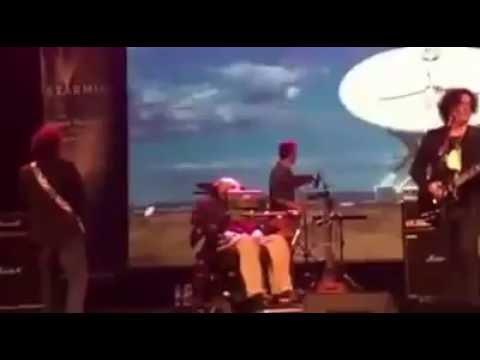 "Anathema ""Keep Talking"" live with Stephen Hawking"
