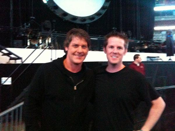 Robbie Wycoff (left) & John