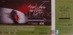 Standard Ticket scan.