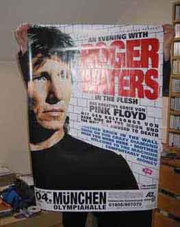 Hidden behind that poster is Werner Haider