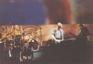 Nick on drums as Roger looks on. Thanks to Mark Horner