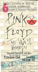 Wall Show Dortmund 18 Feb 1981