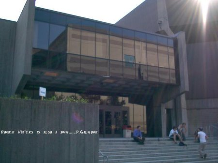 Front of the venue (This pic is also slightly modified) :-}