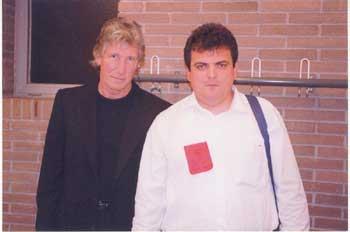 José Abellán with Roger