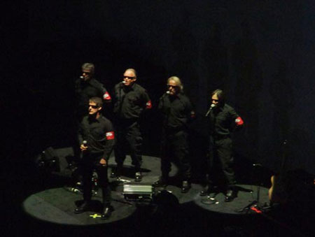 The Male Chorus with Robbie Wyckoff  (photo by Ken Murphy)