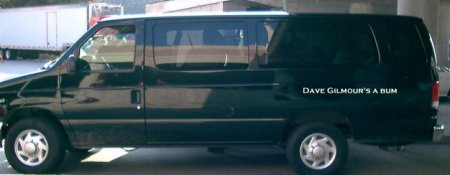 Roger's van (Pic slightly modified) :-}