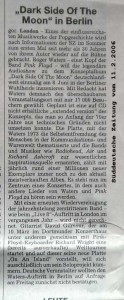 Süddeutsche Zeitung newspaper report Sat 11 Feb