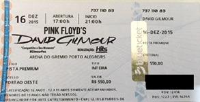 Ticket scan thanks to Bernardo Carnevale