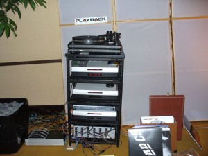 Equipment provided by Playback Designs of Portland, OR.