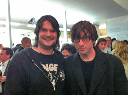 AFG's Paul Thake meets up again with Graham Coxon (from Blur)