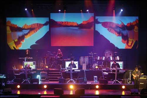 Tangerine Dream live at the Berlin Tempodrome 2006