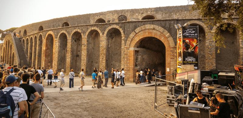 gilmour pompeii 2016