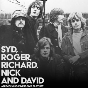 Syd, Roger, Richard, Nick and David